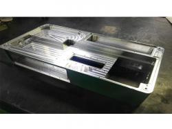 レーザー加工機の精密部品(A5052)